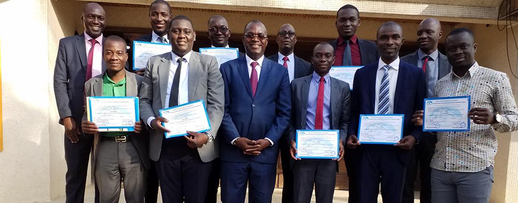Réception des diplômés des 23 ème promotion DESS-A et 13 ème promotion MST-A de l'Institut International des Assurances (IIA)