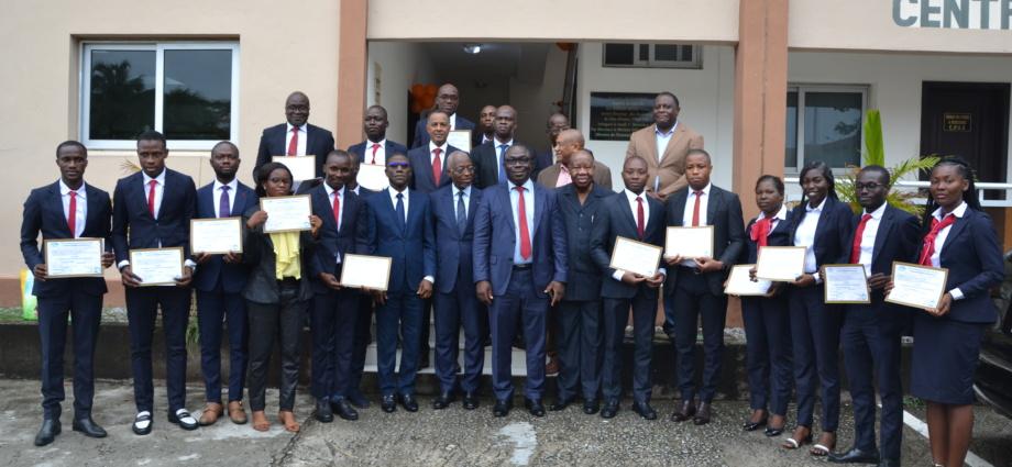 Remise des diplômes de la promotion 2017-2019 du Centre Professionnel de Formation à l'Assurance (CPFA)